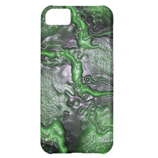 Green Brainmatter (Alien) Case For iPhone 5C