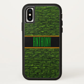 Green Bricks Monogram Phone Case
