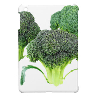 Green Broccoli Crowns on White Case For The iPad Mini