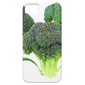 Green Broccoli Crowns on White iPhone 5 Cover