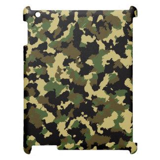 Green/Brown Camo iPad Covers