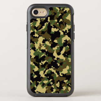 Green/Brown Camo OtterBox Symmetry iPhone 7 Case