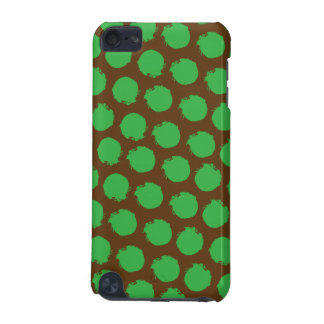 Green Brown Circles iPod Touch (5th Generation) Cases
