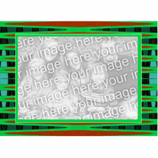 green brown frame photo cut out