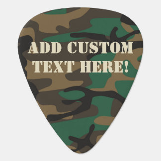 Green Brown Military Camo Camouflage Pick