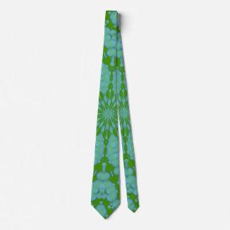 Green Bubble Zen Tie