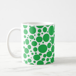 Green Bubbles Coffee Mug