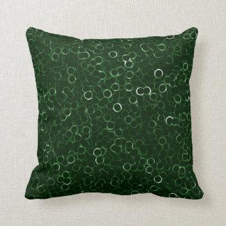Green Bubbles Cushion