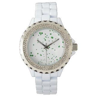 Green Bubbles Watch