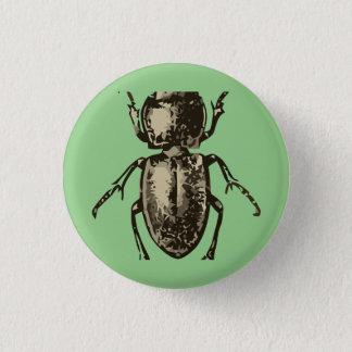 """Green bug 2"""" round button"""