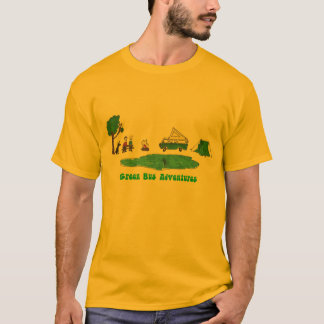 Green Bus Adventures Long Sleeve Shirt