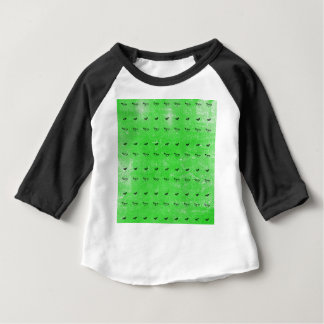 Green butterflies baby T-Shirt