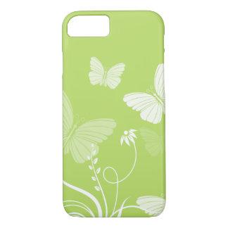 Green butterflies iPhone 7 case
