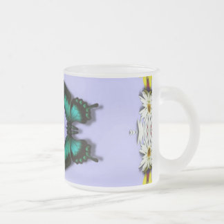 Green Butterflies Mugs