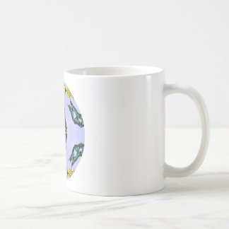 Green Butterflies Mug