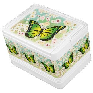 Green butterfly cooler