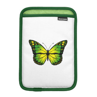 Green butterfly iPad mini sleeve