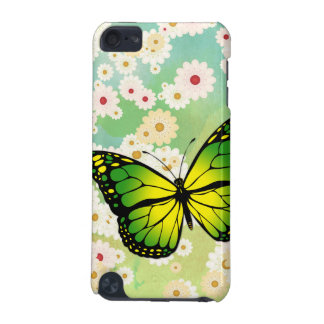 Green butterfly iPod touch 5G case