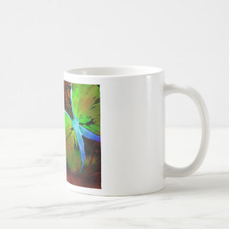 Green Butterfly Coffee Mug