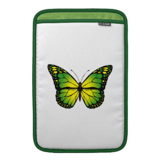 Green butterfly sleeve for MacBook air