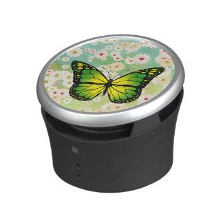 Green butterfly speaker