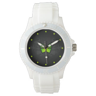 Green Butterfly Watches