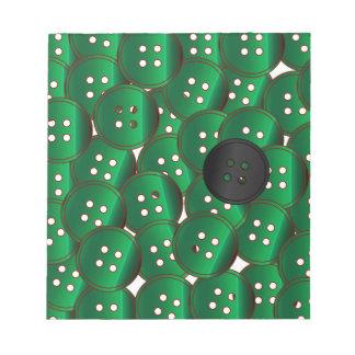 Green Buttons Notepad
