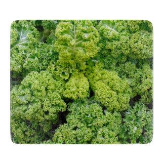 Green cabbage cutting board