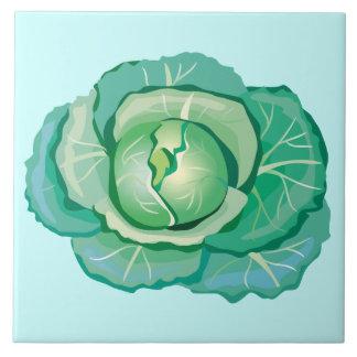 Green Cabbage Decorative Kitchen Tile