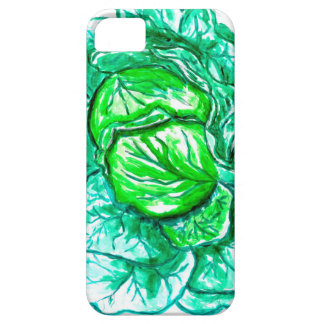 Green Cabbage Watercolor 2 iPhone 5 Covers
