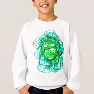 Green Cabbage Watercolor 2 Sweatshirt