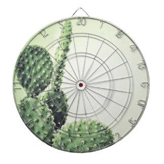 Green cactus dartboard