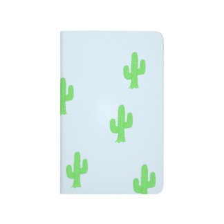 Green cactus journal