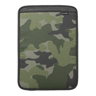 Green Camo 13 Inch Macbook Air Sleeve Vertical MacBook Air Sleeves