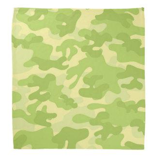 Green Camo Design Bandana