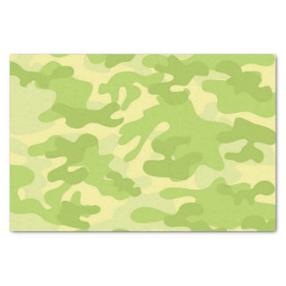 Green Camo Design Tissue Paper