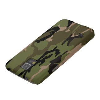Green Camo Galaxy S5 Cases