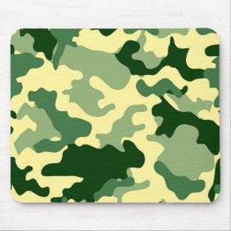 Green Camo Mousepad