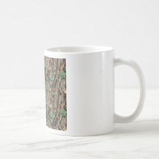 Green Camo Classic White Coffee Mug