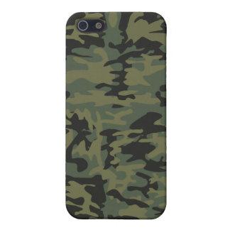 Green camo pattern iPhone 5 case