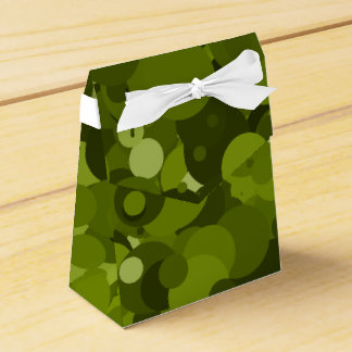 Green Camouflage Favour Box