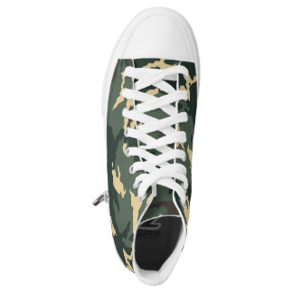 Green Camouflage... Printed Shoes