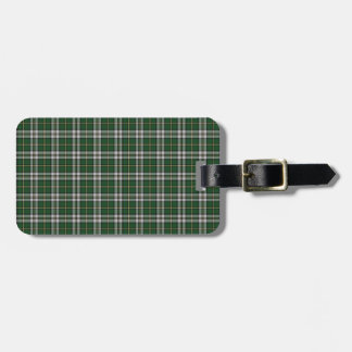 Green cape Breton tartan Luggage Tag