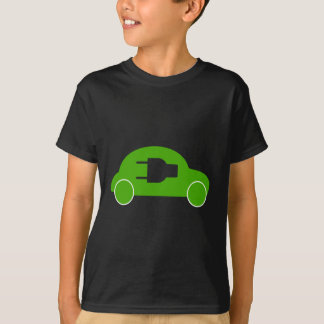Green Car Eco Auto Electric Automobile T-Shirt