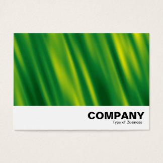Green Cascade Abstract Business Card