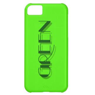 green iPhone 5C case
