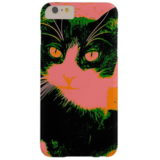 Green Cat Barely There iPhone 6 Plus Case