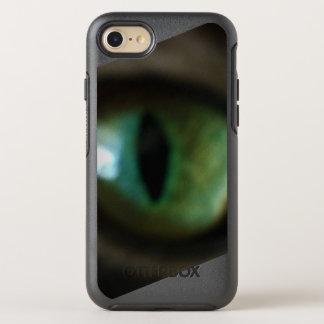green cat eye phone case