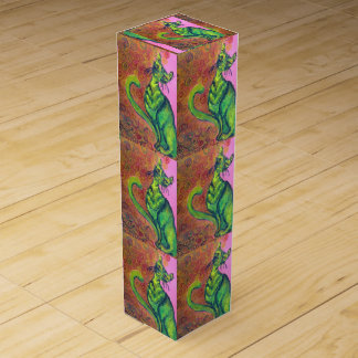 green cat wine box