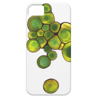 Green Cells Abstract Art Barely There iPhone 5 Case